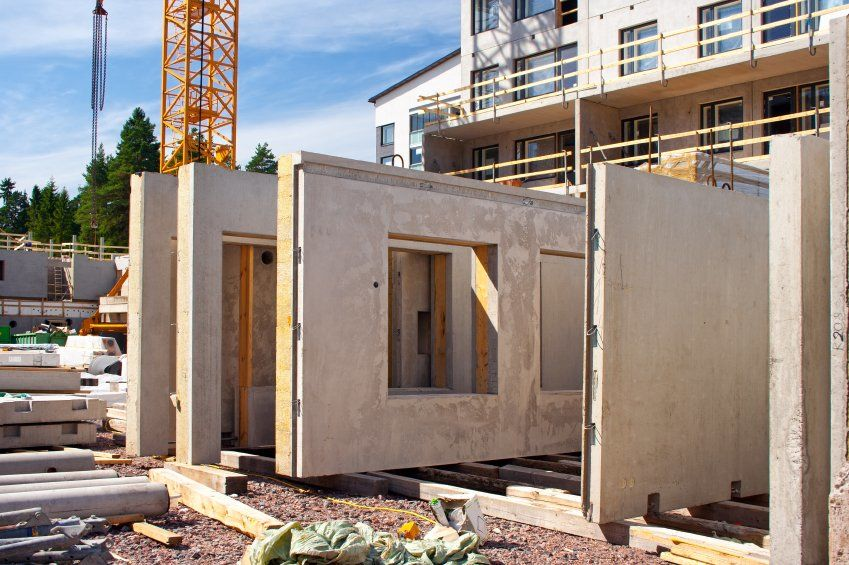 pre-cast concrete homes