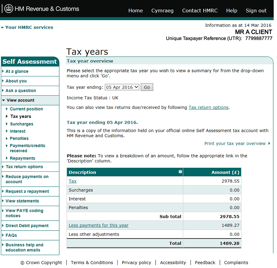 Check if you need to fill in a Self Assessment tax return