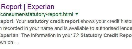How to obtain your Experian Statutory Credit Report.